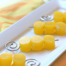 Mimosa Jello Shots