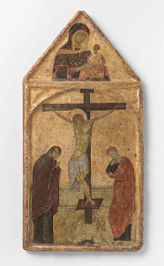 RIJKS: anoniem: Crucifixion with the Virgin and Saint John 1250