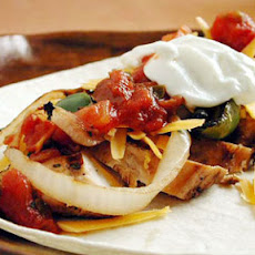 Todd's Chicken Fajitas