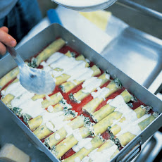 Awesome Spinach & Ricotta Cannelloni