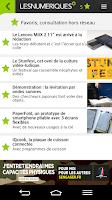 Screenshot of Les Numériques