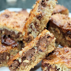 Chocolate Caramel Tray-Bake Slice