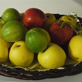 BODEGON by Jose Mata - Food & Drink Fruits & Vegetables