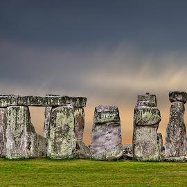 Stonehenge by Eitel Bock - Buildings & Architecture Public & Historical ( england, uk, stonehenge, wiltshire, stones )