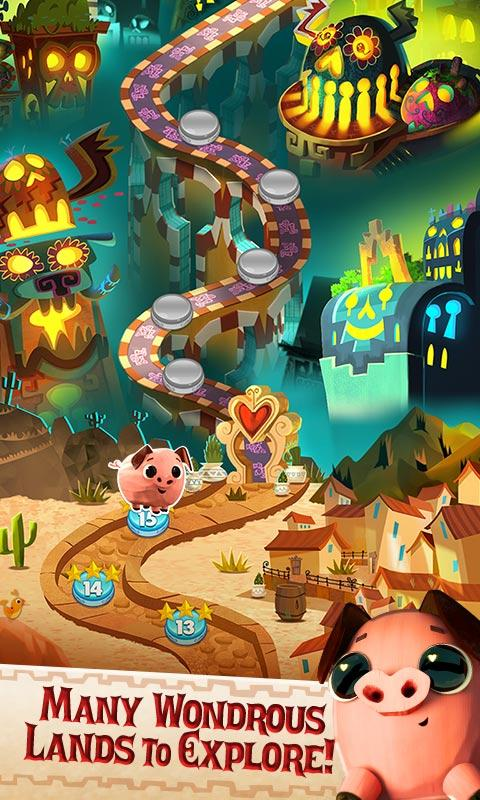 Sugar Smash: Book of Life - Free Match 3 Games Screenshot 2
