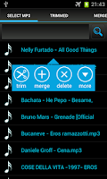 Screenshot of Ringtone Mp3 Cutter