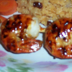Spicy Sweet Grilled Shrimp