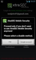 Screenshot of XtraSEC Phone Locator