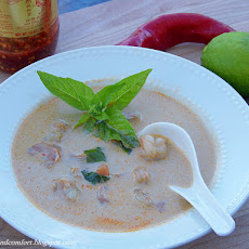Thai Shrimp in Coconut Milk Soup