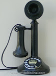 Candlestick Phones - AE Conversion Candlestick Telephone