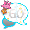 GO SMS THEME/GirlyStars3 icon