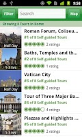 Screenshot of Rome City Guide