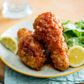 Asian Fried Chicken Recipe with Garlic Chili Sauce