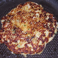 Sour Cream and Chive Potato Pancakes