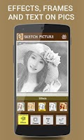 Screenshot of Pencil Camera Face Sketch App