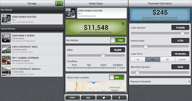 Screenshot of Vinny - Used Car VIN Scanner