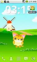 Screenshot of A Cute Cat Live-Wallpaper
