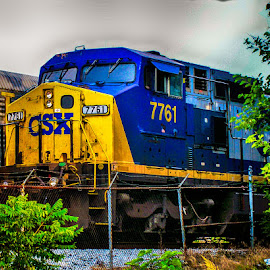 csx 7761 by Andrew Butcher - Transportation Trains