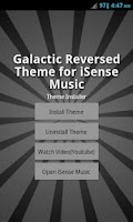 Screenshot of Galactic Reversed Theme