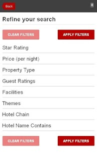 Pompei Hotel booking - screenshot