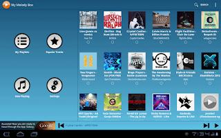 Screenshot of My Melody Box v1