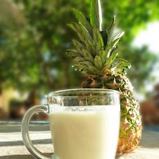 Frosty Pineapple Nog
