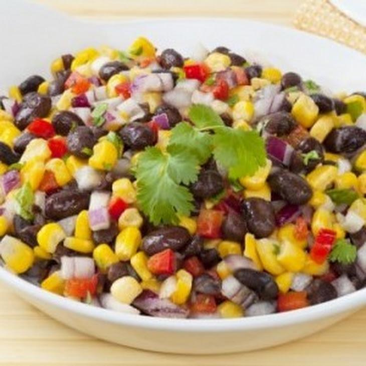 Southwestern Black Bean Salad Recipe | Yummly