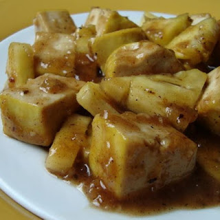 Vegan Pineapple Tofu