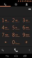 Screenshot of Arctic Orange CM11 AOKP Theme
