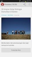 Screenshot of Berita - Indonesia News