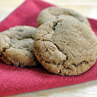 Holiday Molasses Cookies