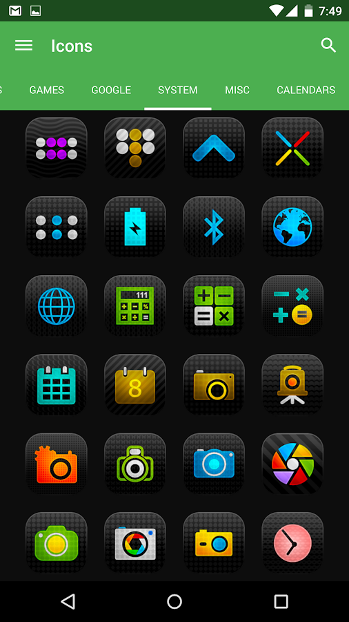 Viby - Icon Pack Screenshot 4