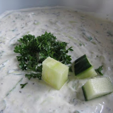 Cucumber-Mint Raita