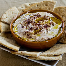 Black-Eyed Pea Hummus with Olive Oil and Sumac