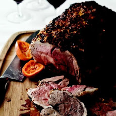 Leg of Lamb in a Clementine Crust