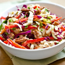 Southern-Style Slaw with Pecans and Maple-Dijon Vinaigrette