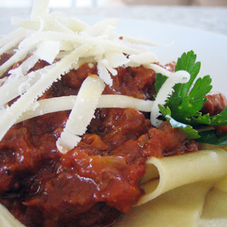 Low-and-slow Meat Sauce