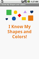 Screenshot of I Know My Shapes
