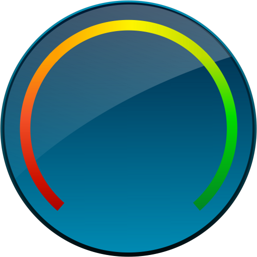 Digital Circle Battery Widget LOGO-APP點子