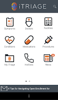 Screenshot of iTriage Health
