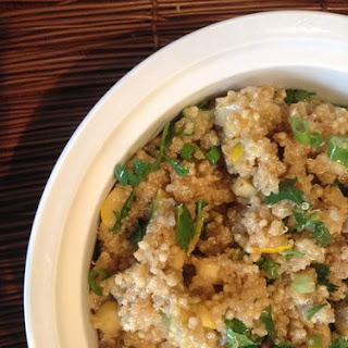 Millet and Quinoa Summer Squash Salad