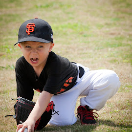 Tenacious T-Baller by Larry Welch - Sports & Fitness Baseball
