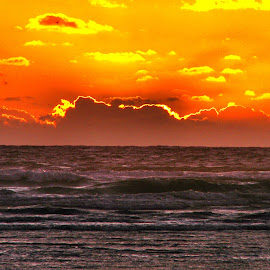 Sunset in half Moon Bay, CA by Penny McWhirt - Landscapes Sunsets & Sunrises ( ca, sunset, pacific, half moon bay )