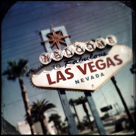 It's Vegas, Baby by Lisa Marie Pane - Travel Locations Landmarks ( las vegas, signs, nevada, casino )