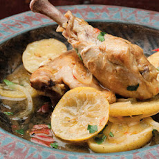 Moroccan Chicken With Cinnamon And Lemon