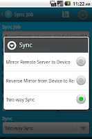 Screenshot of FSync - FTP Client