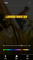 Screenshot of Font style 7 For Locker Master