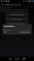 Screenshot of CWMR Touch Installer
