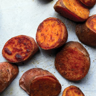 Old Bay-Roasted Sweet Potatoes