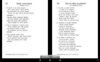 Screenshot of Kingdom Song Book